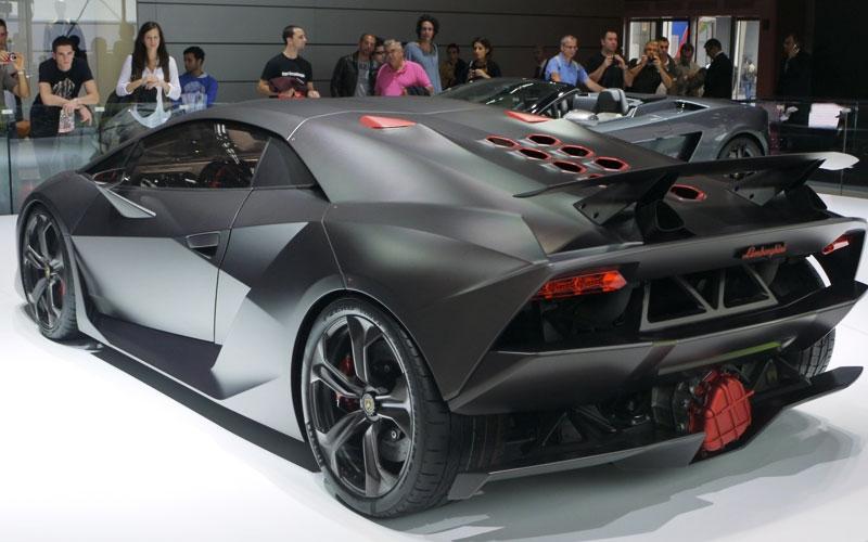 Auto elettrica Lamborghini Terzo Millennio