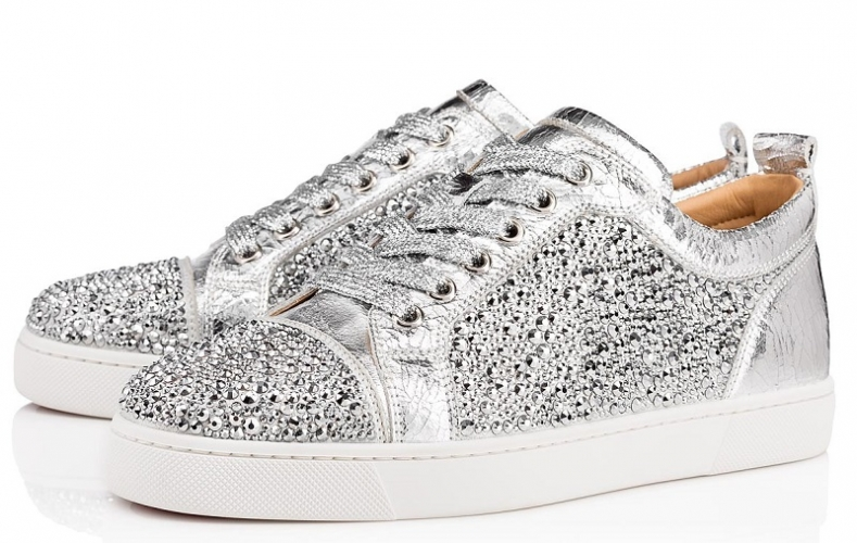 sneakers louboutin strass