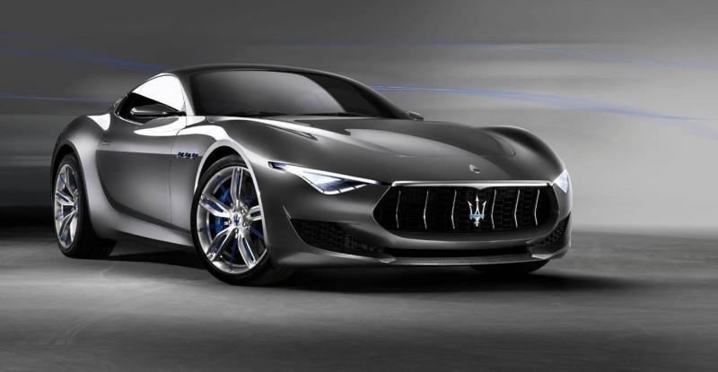 auto elettrica Maserati